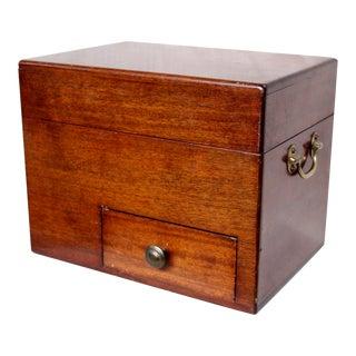 Mahogany Liquor Cabinet or Box