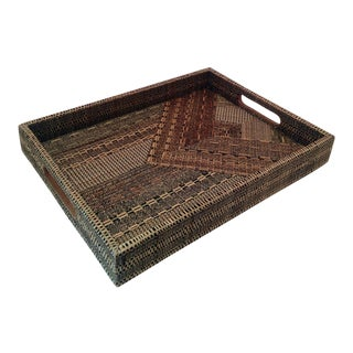 Natural Sea Grass Woven Tray
