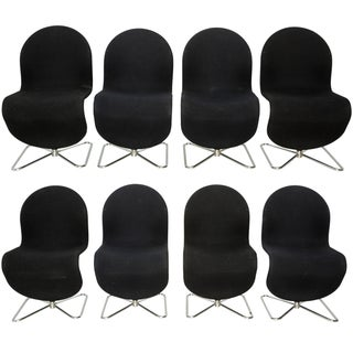 Panton System Chairs by Verner Panton - Set of 8
