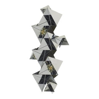 Curtis Jere Prismatic Wall Sculpture