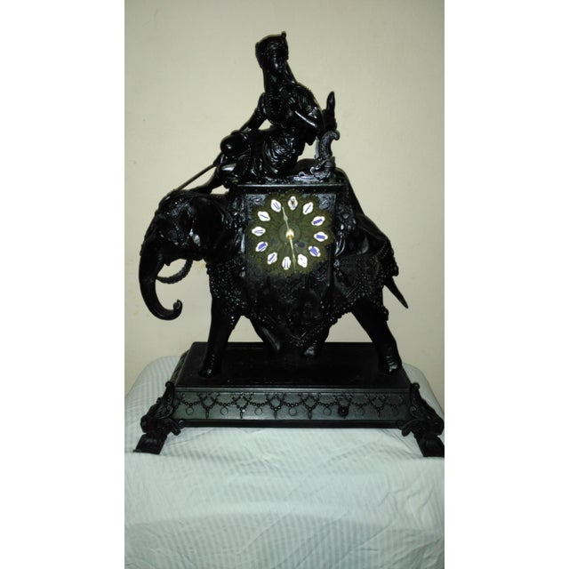 Image of Egyptian Revival Mantel Clock
