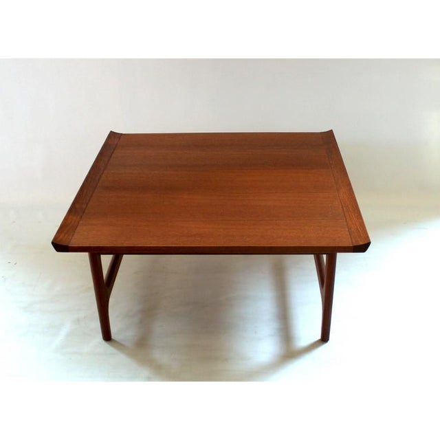 1960s japanese modern finn juhl style teak coffee table for 60s style coffee table