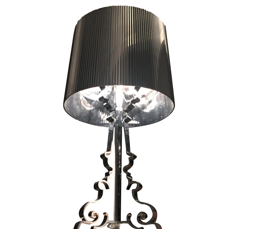silver kartell bourgie l chairish