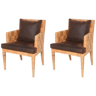 "Angelo Donghia ""Block Island"" Armchairs - A Pair"