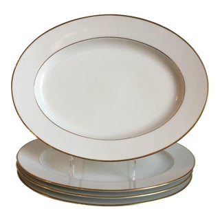 Noritake Dawn Oval Serving Platters - Set of 4