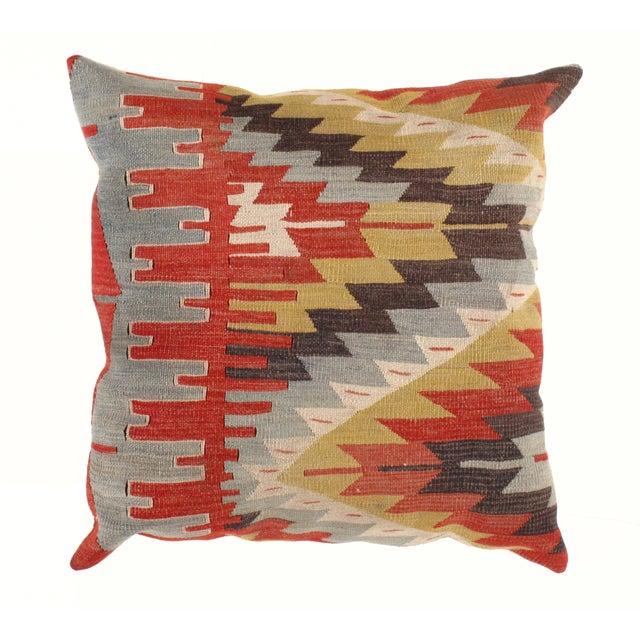 Vintage Kilim Pillow - 2' X 2' - Image 2 of 3