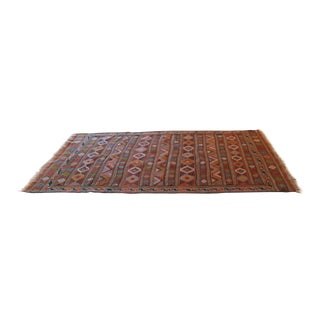 Vintage Turkish Tribal Rug - 4′4″ × 7′7″