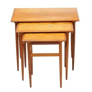 Danish Teak Karla Nesting Tables- Set of 3