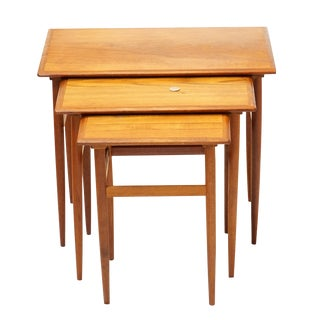 Danish Teak Karla Nesting Tables- Set of 3