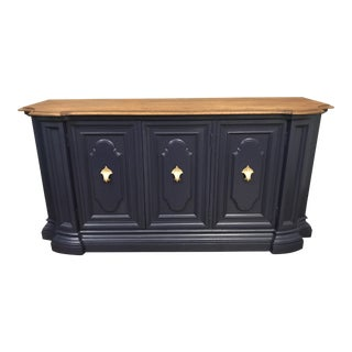 Century Blue Sideboard Buffet