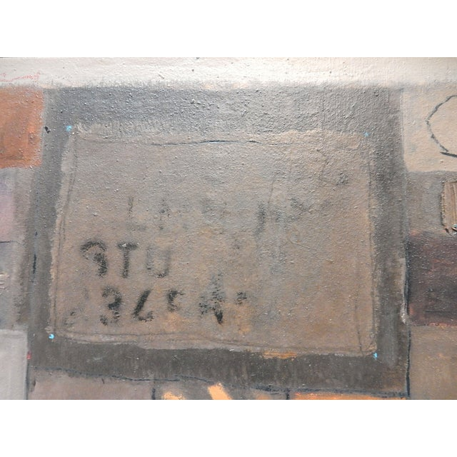 Image of 1994 Jose Guedez Original Abstract Oil Painting
