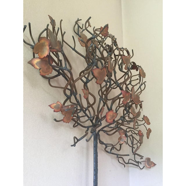 Vintage Tree Wall Sculpture in Style of Jere - Image 3 of 3
