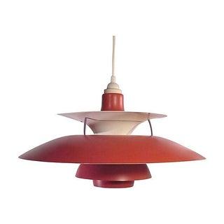 Red Danish Ph5 Hanging Light