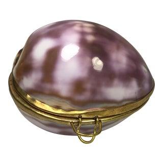 Shell & Brass Box