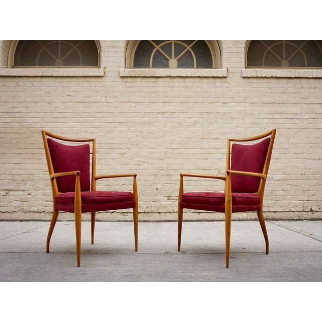 Image of Widdicomb Mid-Century Dining Chairs- Set of 8