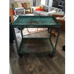 Image of Industrial Tea Cart on Casters