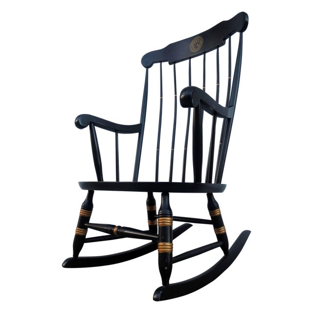 Nichols & Stone Hitchcock Windsor Rocker Chair - Image 1 of 5