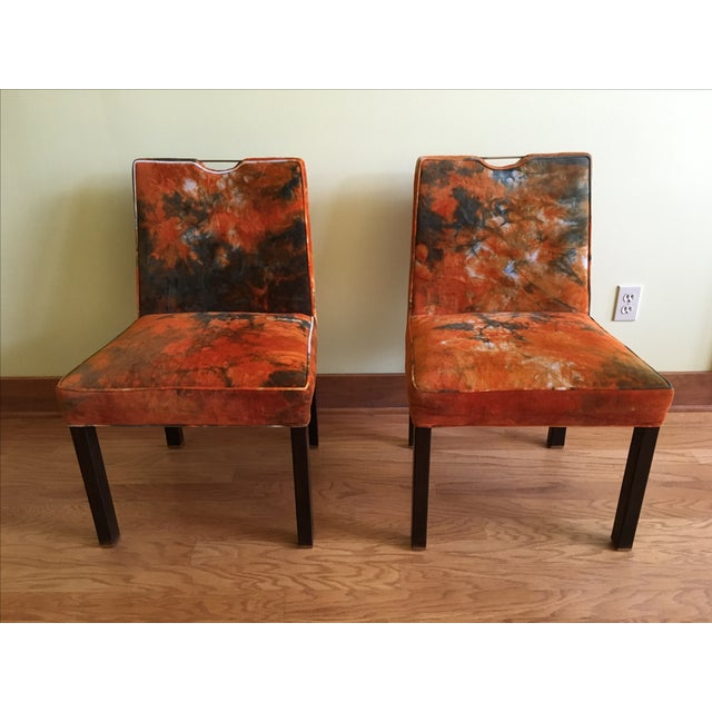 Edward Wormley for Dunbar Side Chairs - A Pair - Image 2 of 7