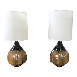David Cressey Ceramic Lamps - A Pair