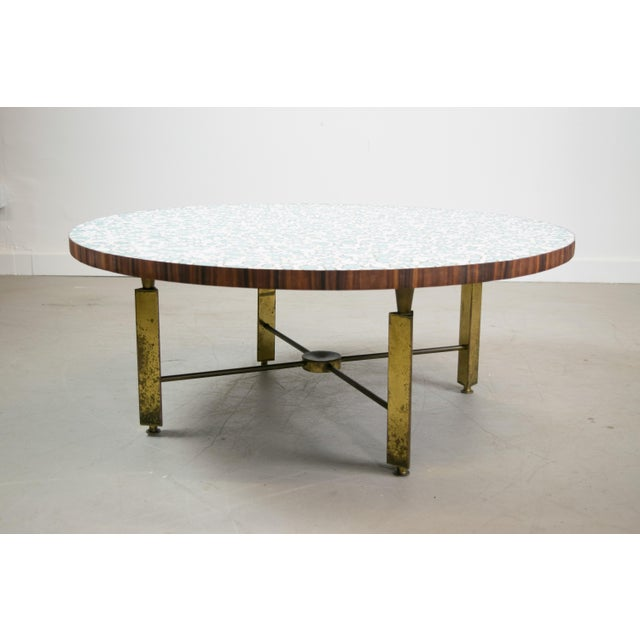 Image of Mid-Century Modern Mosaic Coffee Table