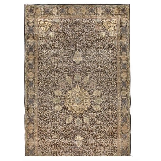 Antique Oversize North Indian Carpet - Image 1 of 1