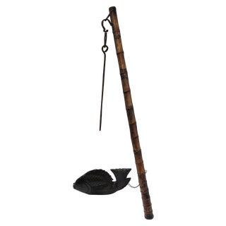 Antique Japanese Kettle Hook