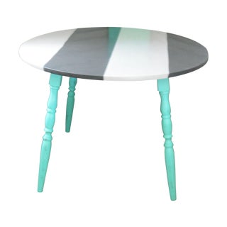 Hand Painted Vintage Kitchen Table