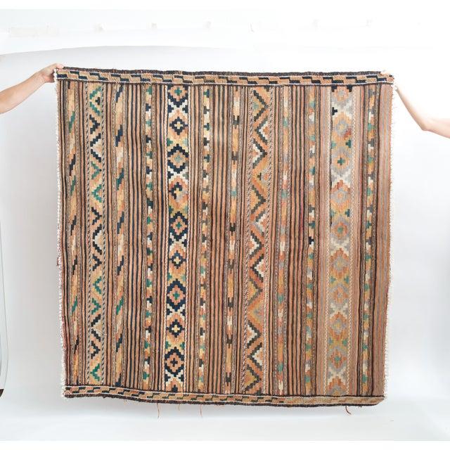 Image of Vintage Square Kilim Rug
