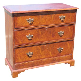 18th C. English Style Inlaid Chest of Drawers