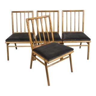 T.H. Robsjohn Gibbings Dining Chairs - Set of 4