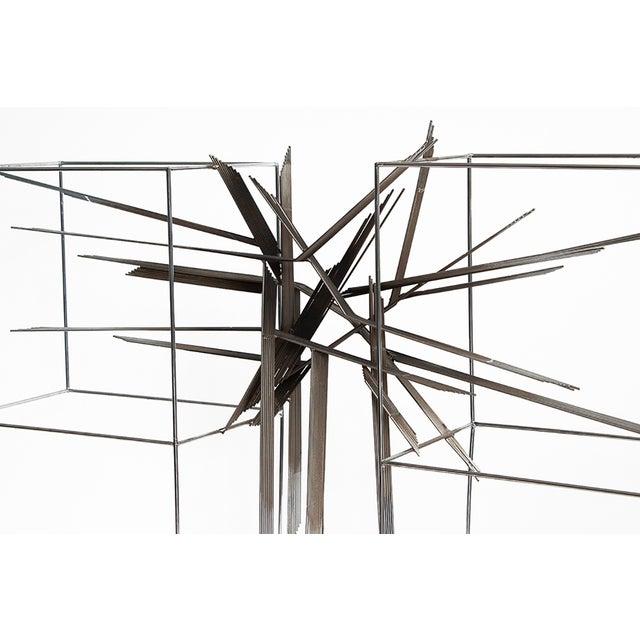 Curtis C Jere Chrome Burst Brutalist Sculpture - Image 9 of 10