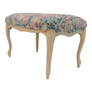 French Style Tapestery Footstool