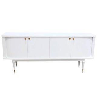 Circa 1940s French Art Deco White Sideboard