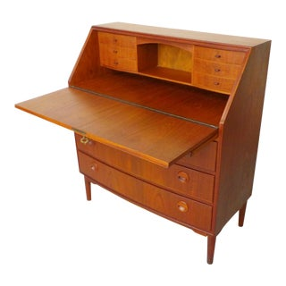 Folke Ohlsson Teak Secretary Desk