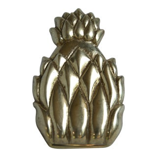 Brass Pineapple Binder Clip