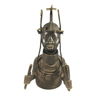 Very Fine Bronze Sculpture From the Benin People in Africa