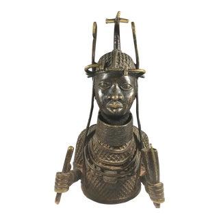 Very Fine Bronze Sculpture From the Benin People in Nigeria