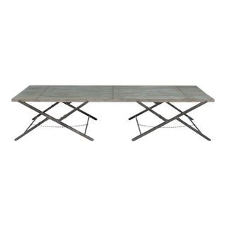 Sarreid Ltd Campaign Low Folding Table