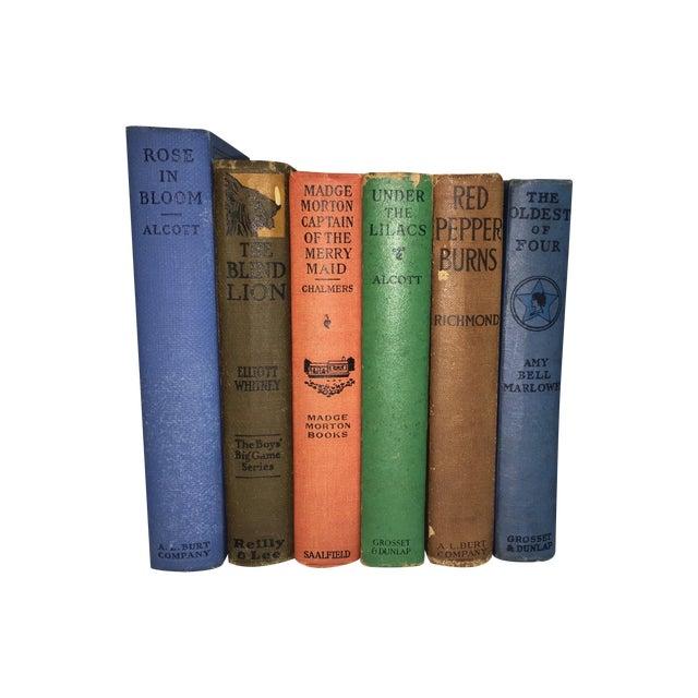 Antique Distressed Children's Books - Set of 6 - Image 1 of 3