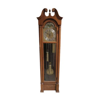 1950s Herschede Grandfather Clock