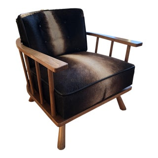 Widdicomb by t.h. Robsjohn-Gibbings Pony Hair Lounge Chair