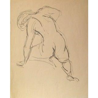 Ink Figure Sketch by J. Tofel