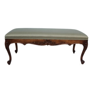 Vintage French Louis XV Style Bench