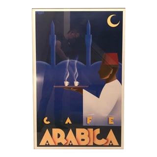 Framed Cafe Arabica Art Print by Steve Forney