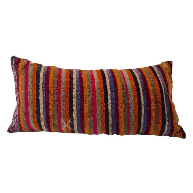 Dhurrie Lumbar Pillow - Image 1 of 8