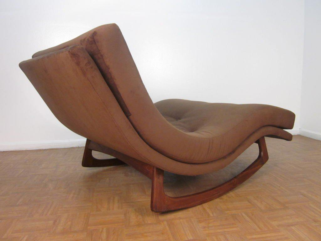Adrian Pearsall Sculptural Double Wide Rocking Chaise - Image 4 of 5  sc 1 st  DECASO : adrian pearsall rocking chaise - Sectionals, Sofas & Couches