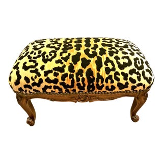 Louis XV Style Footstool