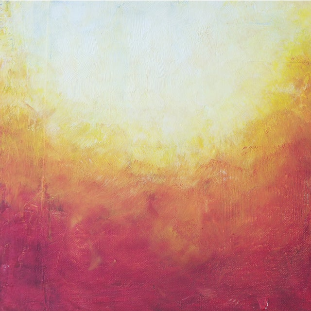 Image of 'Solar Flare II' Abstract Painting