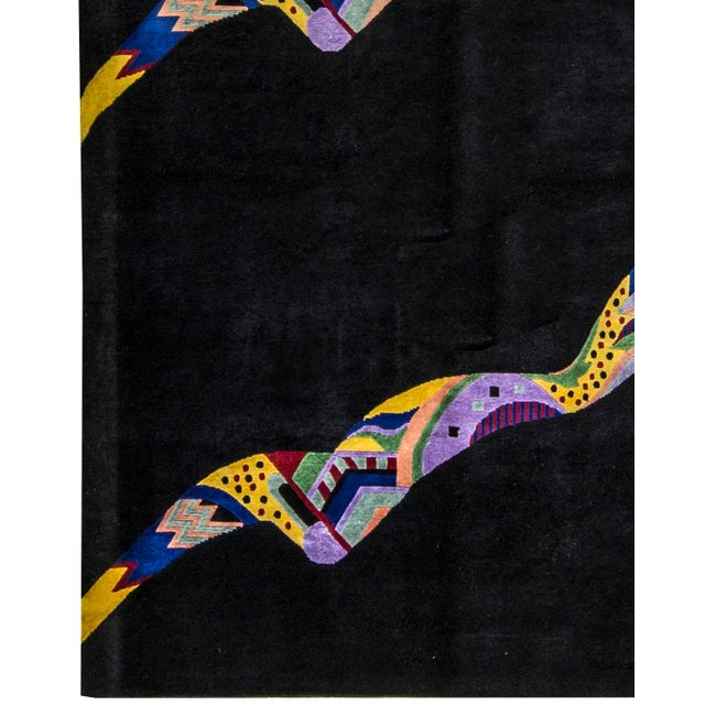 "Contemporary Hand Woven Rug - 6'5"" x 9'1"" - Image 3 of 3"