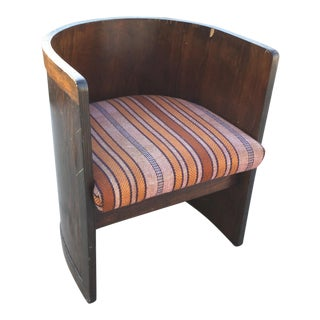 Child's Upholstered Bentwood Chair